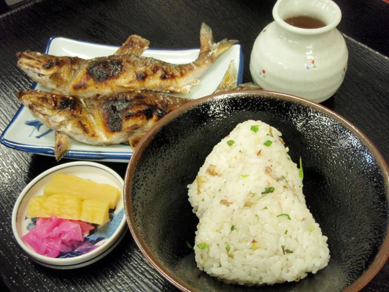 鮎コース料理